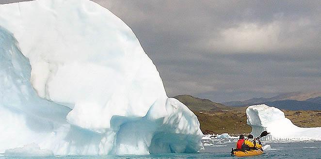 Groenlandia. Trekking y kayak