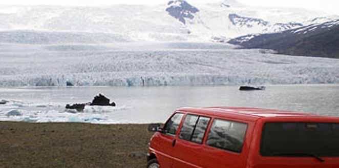 La ruta del sur de Islandia