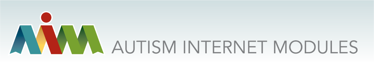 AIM Autism Internet Modules Logo