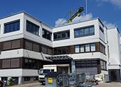 Construction progress in Steinenbronn