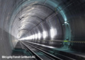 Fiber optic technology in the Gotthard Tunnel