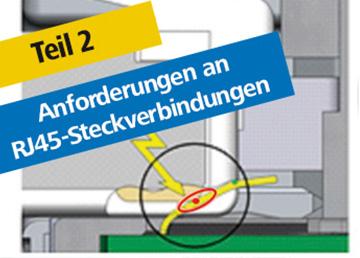 Anforderungen an RJ45-Steckverbindungen