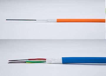 Loose tube fiber optic cables per drum