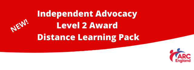 Independent Advocacy Level 2 Award Distance Learning Pack image