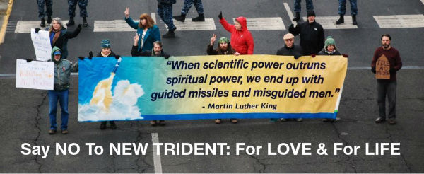 NO To NEW TRIDENT: For LOVE & For LIFE