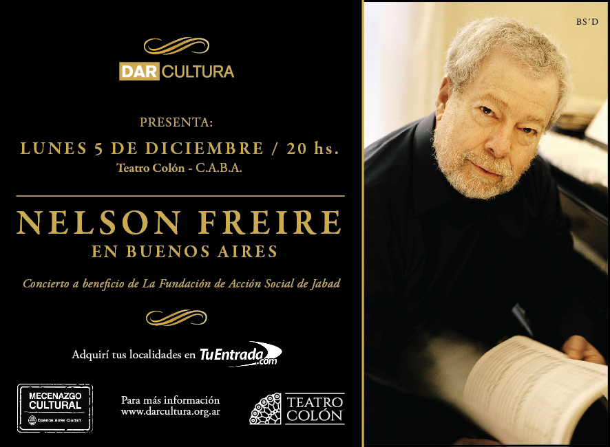 Nelson Freire en el Colón
