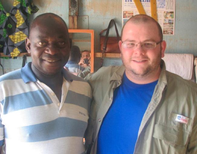 Richie Rice in Cameroon