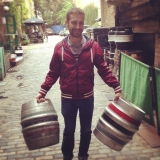 Dave and his casks