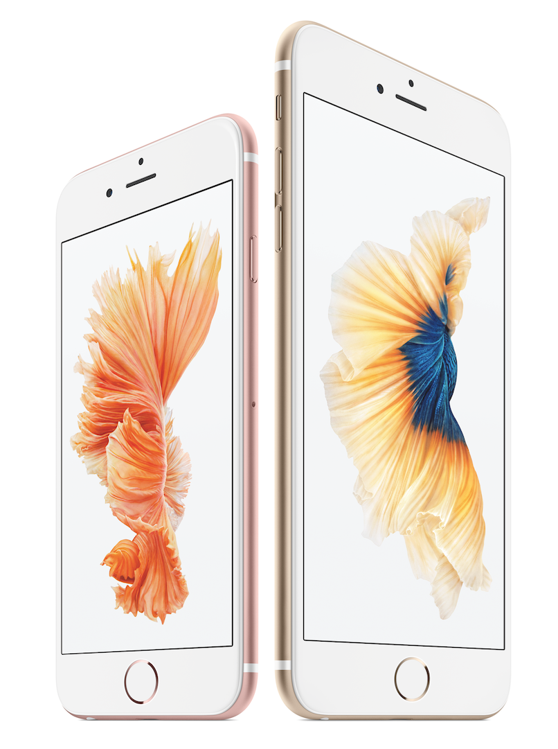 Apple iPhone 6 S and 6 S Plus