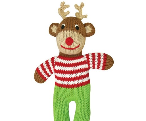 Ralphy the Reindeer Organic Toy