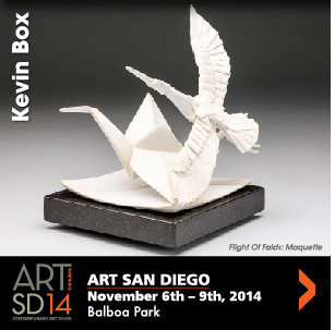 Kevin Box — Art San Diego Nov. 6-9, 2014