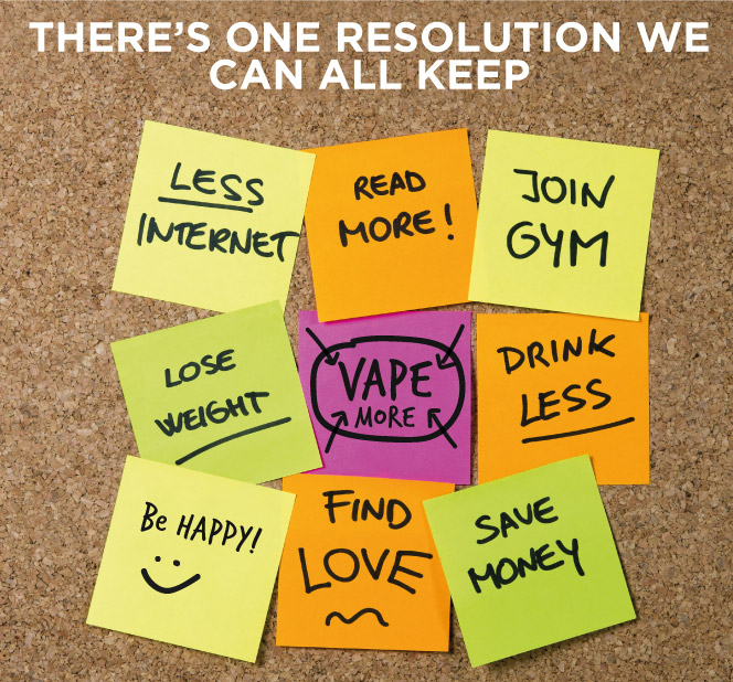 There's one resolution you can keep