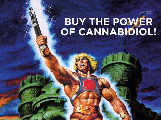 Buy the power of cannabidiol