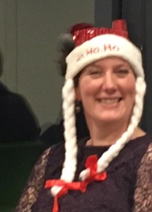 Chantal at Christmas