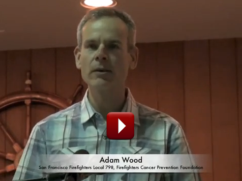 SF Firefighter Adam Wood, from Labor Video Project.