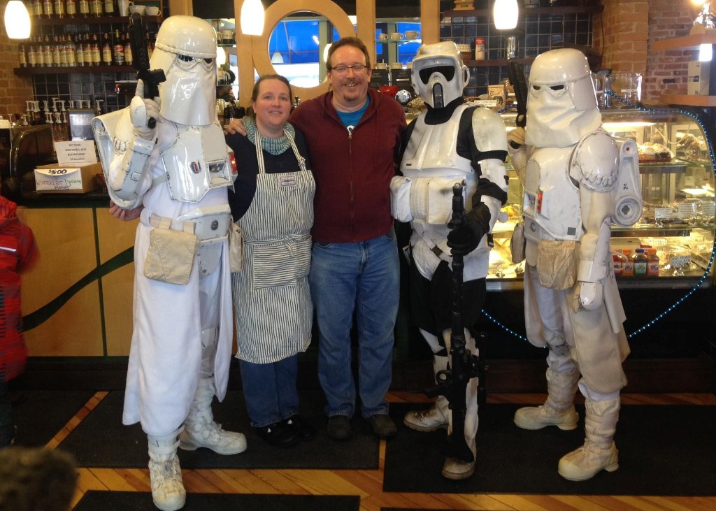 Carrigan Cafe | May the foam be with you.