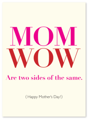 Mother's Day WOW
