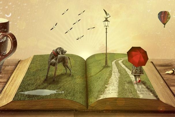 Book art image
