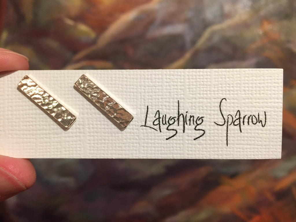 Laughing Sparrow Earring