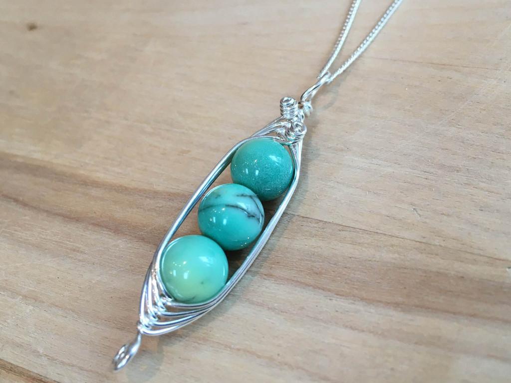 Silver Suspensions Necklace