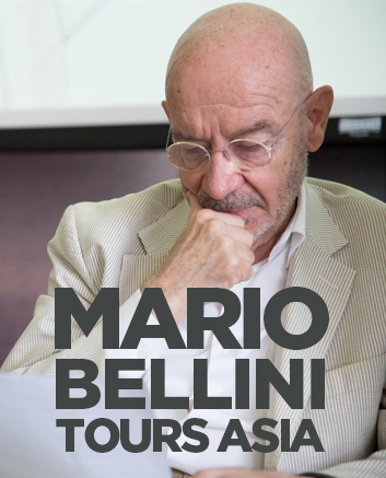 A Passion called 'Project': Mario Bellini tours Asia