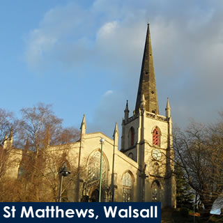 St Matthews Church, Walsall