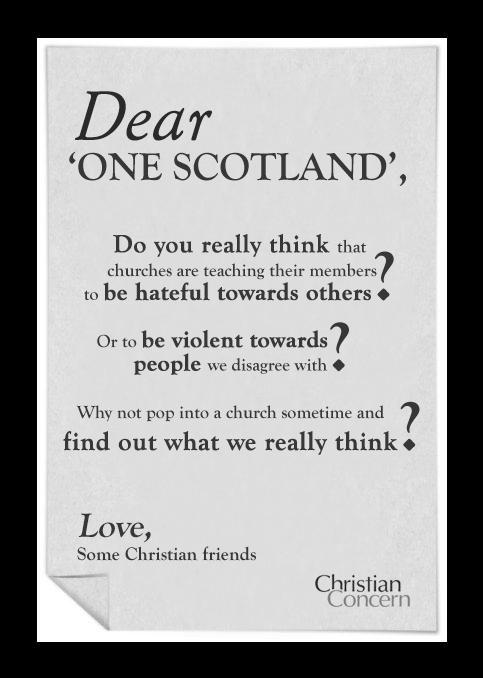 Dear Scotland