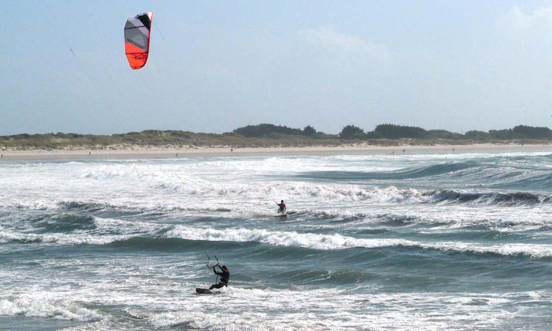 plage du ster kitesurf