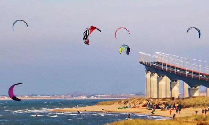 kitesurf plage de sablanceaux