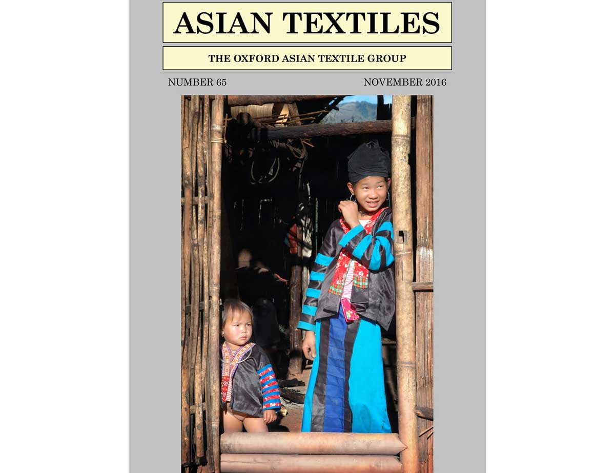 Asian Textiles Article