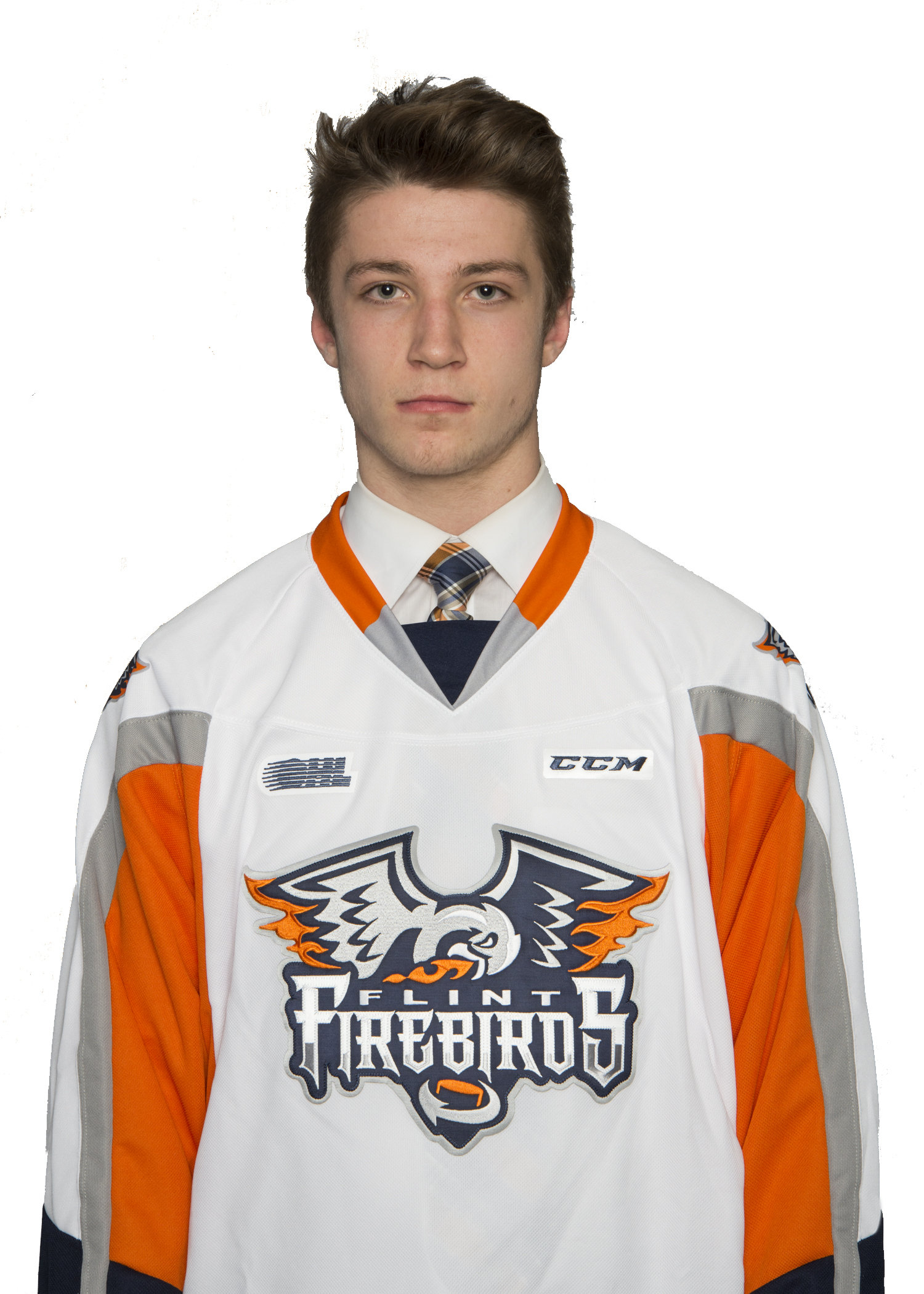 Flint Firebirds 2017 First Round OHL Draft Pick Ethan Keppen.
