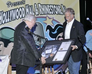 George Jones - Louisiana Hall of Fame award presentation