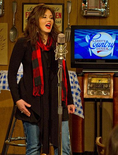 Mandy Barnett on Larry's Country Diner