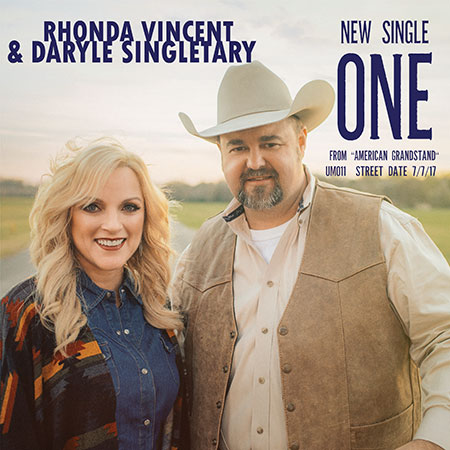 Rhonda Vincent with Daryle Singletary