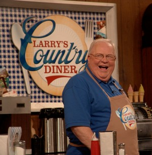 Larry's Country Diner host Larry Black