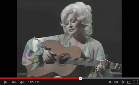 Dolly Parton 'Coat of Many Colors'