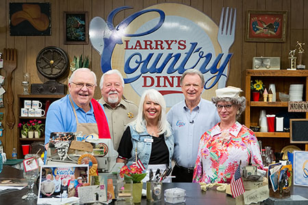 Larry's Country Diner cast photo