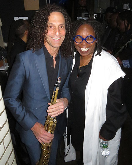 Kenny G & Whoopi Goldberg