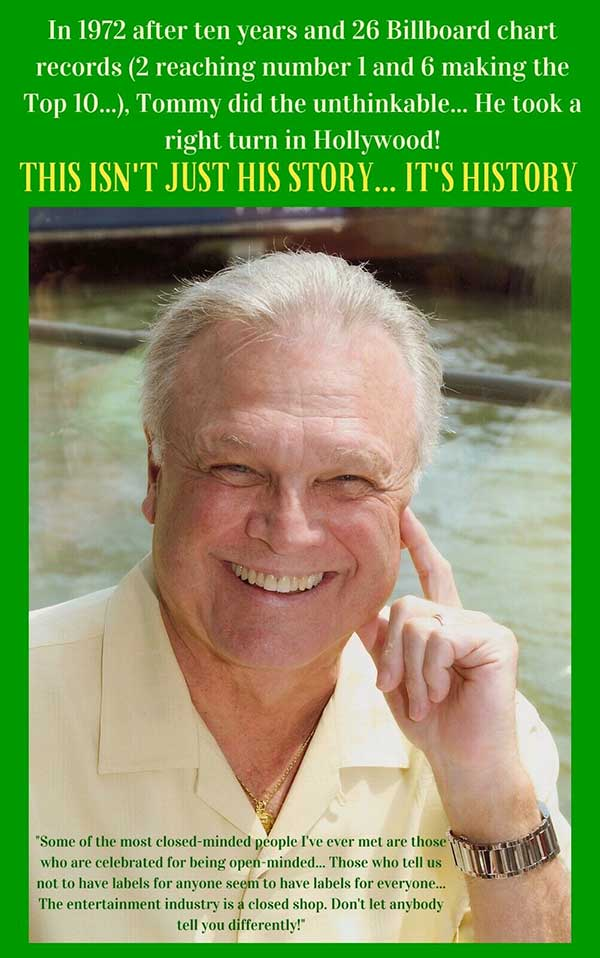 Tommy Roe book back cover