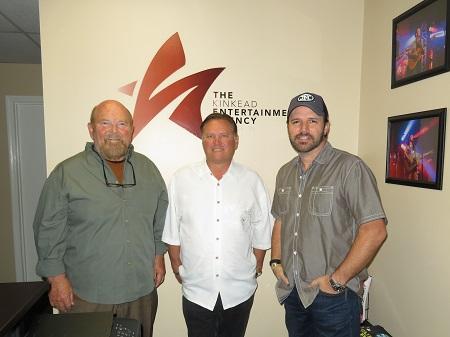 Mark Wills with Bob Kinkead, John Dorris