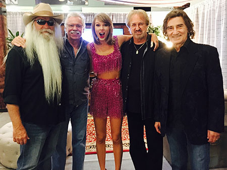 The Oak Ridge Boys with Taylor Swift