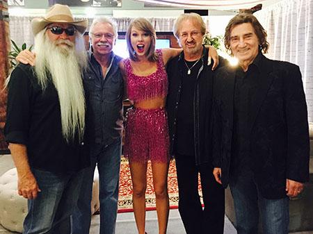The Oak Ridge Boys with Taylor Swift