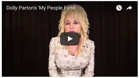 Dolly Parton's 'My People Fund'