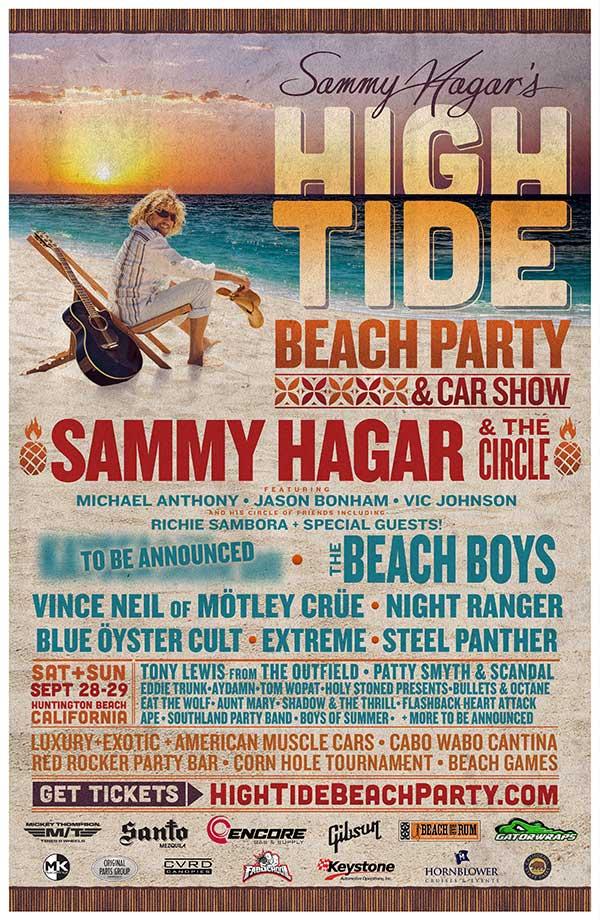 High Tide Beach Party & Car Show