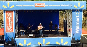Campbell's Soup stage