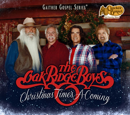 "The Oak Ridge Boys - ""Christmas Time's a Comin'"" album cover"
