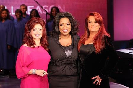Oprah and The Judds