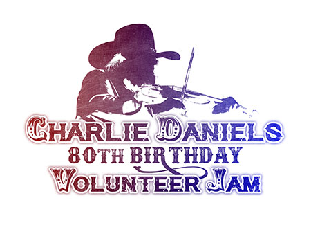 Charlie Daniels' 80th Birthday Volunteer Jam [logo]
