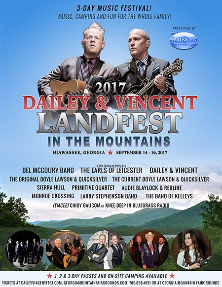 Dailey & Vincent's Landfest In The Mountains