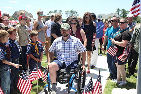 Helping A Hero: Daniel Cowart and family